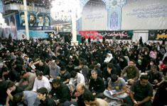 برگزاری مراسم احیای شب بیست و سوم ماه مبارک رمضان در حرم مطهر حضرت امام