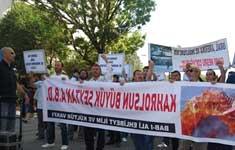مسلمانان آنکارا خواستار مقابله با دسیسه های شیطانی با توجه به رهنمودهای امام خمینی شدند