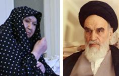 نامه عاشقانه امام خمینی به همسرشان
