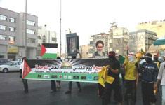 تصویر امام خمینی در خیابان های عربستان