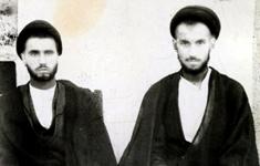 عکس منتشر نشده از امام خمینی و یار دیرینه اش