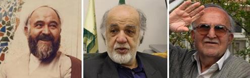 شهاب الدین اشراقی-محمد حسن اعرابی- دکتر محمود بروجردی