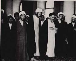 امام در مسجد اعظم قم