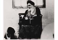 سخنرانی امام در مسجد شیخ انصاری نجف