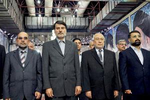 ادای احترام رئیس قوه قضائیه افغانستان به امام خمینی