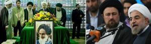 حضور رئیس جمهور منتخب ملت ایران در حرم مطهر امام خمینی(س)