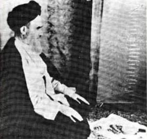 حرکت امام خمینی از کاظمین به سامرا و کربلا
