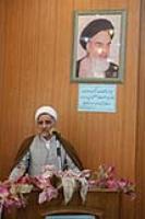 حجت الاسلام والمسلمین باقری، رئیس مؤسسه بشری