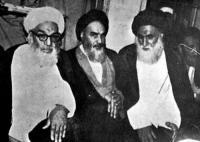 ورود امام خمینی به شهر نجف و استقبال پر شور از ایشان