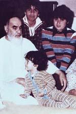 خاطرات عیدی و هدیه دادن امام