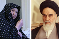 نامه های امام به همسر گرامیشان