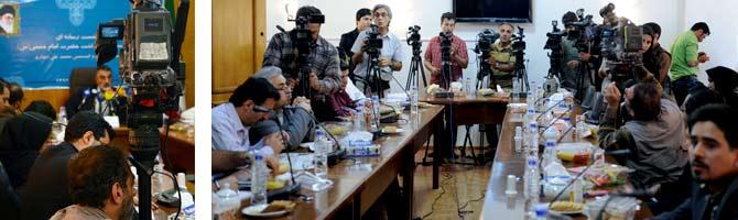 نشست رسانه ای دبیر ستاد بزرگداشت امام خمینی