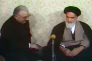 امام خمینی و نماینده پاپ