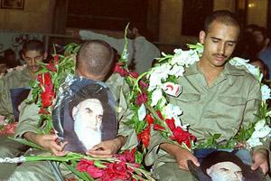 علاقه اسرا به امام خمینی