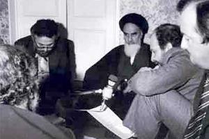 مصاحبه امام خمینی در فرانسه