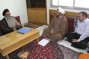 عباس کمساری و آیت الله طباطبائی نژاد