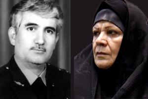 شهید ستاری و همسرش