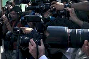 خبرنگاران رسانه های خارجی