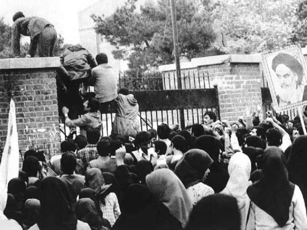 آنها که از دیوار سفارت بالا رفتند