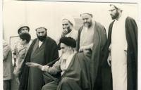 دیدار مردم با امام