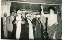دیدار با امام در مدرسه فیضیه