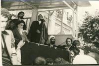 سخنرانی هاشمی رفسنجانی در حضور امام