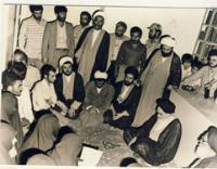 دیدار عده ای از اهالی شیراز با امام
