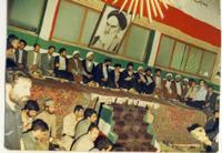 حضور امام در مراسمی در شهربانی قم