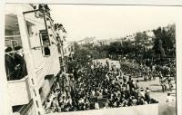 رژه نیروهای نظامی از مقابل امام