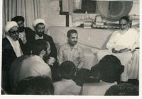 دیدار هیات دولت رجایی با امام