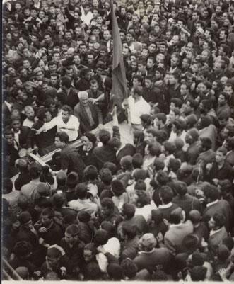 در سوگ سالار شهیدان، همراه با مردم
