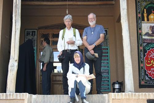 گردشگران دانمارکی از بیت تاریخی امام بازدید کردند