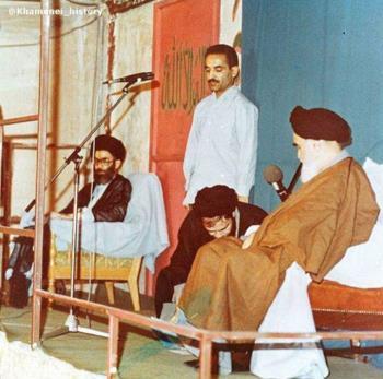 امام خمینی، انقلاب اسلامی و رؤسای جمهور در یک قاب