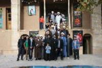 بازدید جمعی از شاگردان یادگار امام از بیت و زاد گاه امام در خمین