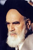 پرتره امام در جماران سه رخ از نمای نزدیک