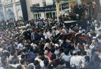 سخنرانی هاشمی رفسنجانی در حضور امام در قم