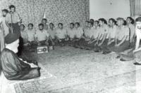 دیدار نظامیان با امام در قم
