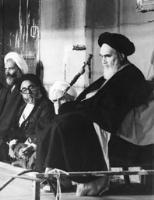 دیدار گروهی از وعاظ با امام در حسینیه جماران