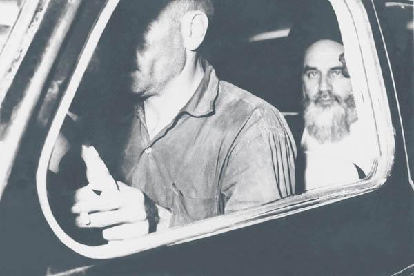 امام در تاکسی