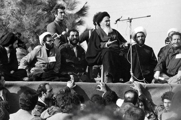 سخنرانی امام در بهشت زهرا