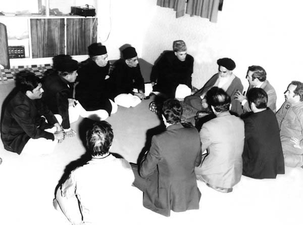 دیدار هیات پاکستانی با امام در قم