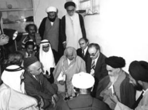 دیدار هیات عربستانی با امام در قم