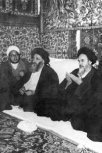 مراسم جشن در قم به مناسبت آزادی امام از زندان