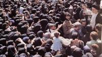 دیدار مردم بندر انزلی با امام در سال 59