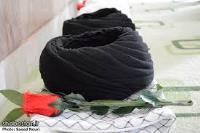 مراسم عمامه گذاری توسط امام خمینی