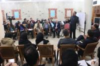 دومین کارگاه آموزشی جشنواره نمایشنامه نویسی و تئاتر  روح الله برگزار شد