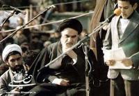 اولین دیدار امام خمینی با شهدا در بهشت زهرا
