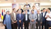 اختتامیه اولین دوره مسابقات بین المللی جام آفتاب در بیت تاریخی حضرت امام برگزار شد