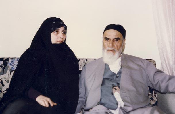 خانم دکتر طباطبایی و امام خمینی(ره)