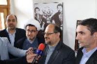 وزیر محترم صنعت معدن تجارت از بیت تاریخی حضرت امام بازدید کرد